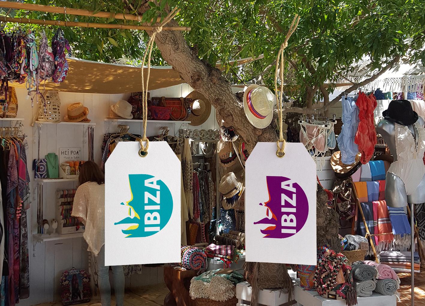 IBIZA Label Tag PSD MockUp 2020 - Ibiza